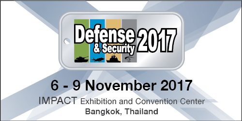ผลการค้นหารูปภาพสำหรับ งาน Defense & Security 2017