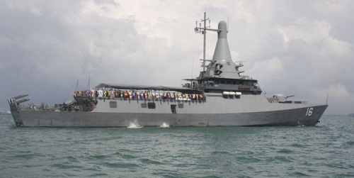 ST Marine delivers Fortitude to Singapore Navy